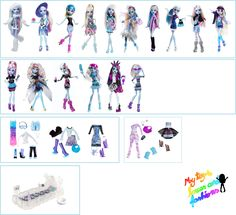 Abbey Bominable Monster High Dolls and Accessories
