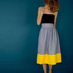 coudre une jupe : diy et patrons - Marie Claire Idées