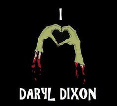 I heart Daryl Dixon