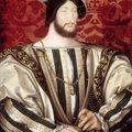 Aujourd'hui, je propose une reconstitution du costume dans lequel le peintre Jean Clouet a immortalisé le roi François...