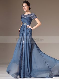 Beautiful- Blue floral dresses and Maids on Pinterest