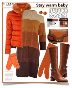 Stay Warm: Puffer Coats by ellie366 on Polyvore featuring polyvore fashion style Herno Gucci Marc Jacobs Marni Huda Beauty clothing Kneehighboots pumpkinspice sweaterdresses puffercoats puffers