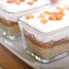 Parfait de quinoa aux pommes, sauce au caramel - Nutritionnistes NutriSimple