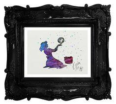 Cinderella with Bubbles archival fine art print by TentakittyInk