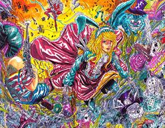 """Check out new work on my @Behance portfolio: """"Alice in Wonderland """"Catastrophe"""""""" http://be.net/gallery/36583317/Alice-in-Wonderland-Catastrophe"""