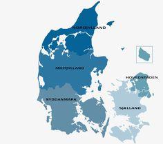 Danmarks regioner