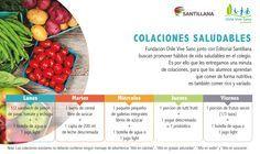 Colaciones saludables para el colegio | Chile Vive Sano