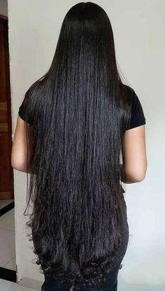 Long Silky Hair, Long Dark Hair, Super Long Hair, Long Layered Hair, Long Hair Cuts, Thick Hair, Long Hair Styles, Beautiful Long Hair, Gorgeous Hair
