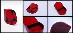 Leather box designed and handmade by Jaanika Aadamsoo
