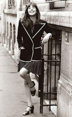 Style Inspiration: Jane Birkin - Heart of Gold + Glitter