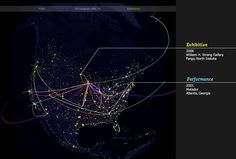 stars on earth: global threads data visualizations by pitch interactive