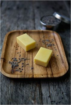 This link leads to a site which has several links to other homemade body products. Wonderful Lavender Body Butter Bars, Coffee Butter for dry skin and more.