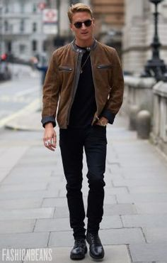 Oliver Proudlock, Photographed in London - Click Photo To See More