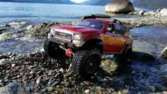 "Trx4 Jeep Rubicon / Scx10""ll 4runner rc4x4 Trailing Rc Rock Crawler, Jeep Rubicon, Toyota 4runner, Remote, Monster Trucks"
