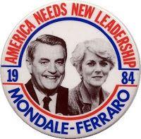 1984 Presidential Election | ... 1984 presidential election with walter mondale and geraldine ferraro