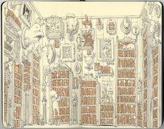"""Our Library"" by Mattias Adolfsson"
