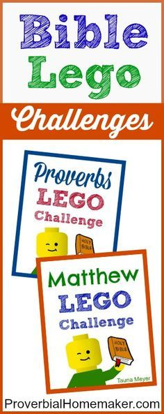 Kids learn the Bible while playing with Legos!