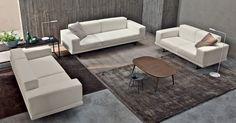 Under è un #divano camaleontico. Sa essere moderno e colorato, ma anche classico ed elegante. Queste composizioni ne sono l'esempio. Guarda tutti i #tessuti e le combinazioni che puoi creare con #underdoimosalotti.  #doimosalotti #divanomodulare http://www.under.doimosalotti.it/tessuti.php