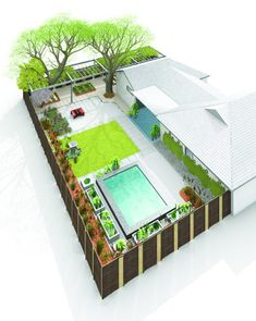 Making Your Own Backyard Paradise - Reality Check on the Cost of Backyard Renovation & the discussion that must occur between designer and client Front Yard Landscaping, Backyard Patio, Patio Design, Garden Design, Function Hall, Events Place, Backyard Renovations, Backyard Paradise, Restaurant Design