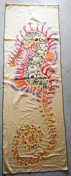 approx cm, acrylic on fabric Beach Mat, Outdoor Blanket, Fabric, Tejido, Tela, Cloths, Fabrics, Tejidos