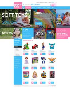 Free website template with jquery slider for diving club jquery toy store free zencart template httptemplatemonstertoy pronofoot35fo Choice Image