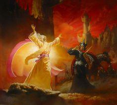 Messenger of Sauron ~ Doug Beekman.