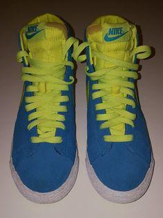 Nike Blazer Jaune Lanceur Cru Salut Suède