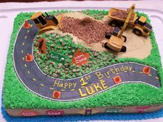 Construction cake — Children's Birthday Cakes
