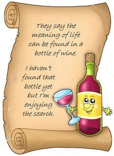 Wine philosophy....