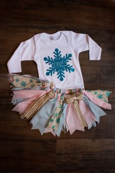 Winter Onederland Outfit girls first birthday by SweetlyCarolina
