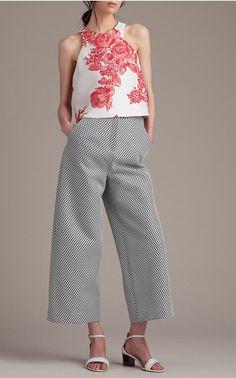 Monique Lhuillier Look 12 on Moda Operandi