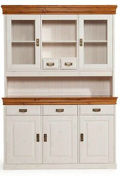buffetschrank wei gewischt massiv holz kiefer k chenschrank nach ma individualisierbar www. Black Bedroom Furniture Sets. Home Design Ideas