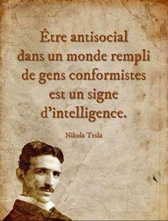 """""""Être delinquent dans un monde rempli de gens conformistes est un signe d'i... - #antisocial #conformistes #d39i #dans #de #est #être #gens #monde #rempli #signe"""
