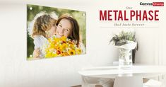Save off on Custom Metal Prints. Transform your favorite photos into high-quality metal prints. Choose the best metal photo prints Online from CanvasChamp at lowest prices. Print Your Photos, Custom Metal, Frame It, Color Pop, Online Printing, Canvas Prints, Printed, Create, Colors