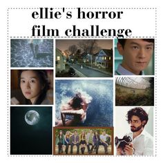 """""""So you want to make a horror film"""" by elliewriter ❤ liked on Polyvore featuring art and elliewrhorrorfilmchallenge"""