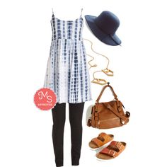 Festival Nights Dress by modcloth on Polyvore featuring Birkenstock, Spring, outfit, boho, festival and modcloth