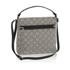 Everything Crossbody in Graphic Weave for $58 - Head to the coffee shop with your tablet in tow! This bag is a great on-the-go solution. Wear as a satchel, crossbody bag or shoulder bag. Via @thirtyonegifts