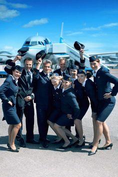 Finnair Retro Crew  (Photo by Ville Salminen/Obscure)