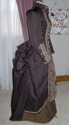 FÜR Bestellungen nur Eigenbau 1800 s viktorianischen Kleid