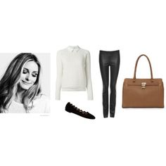 The Olivia Look by danierleather on Polyvore featuring DanierLeather