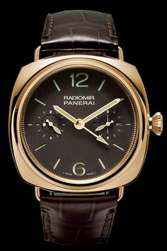Panerai Radiomir Tourbillon GMT 48mm 18k Watch PAM00330