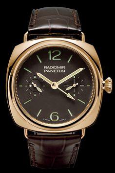 Panerai Radiomir Tourbillon GMT 48mm 18k Watch PAM00330