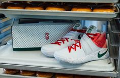 Nike and Krispy Kreme Team Up for Kyrie Irving Shoes
