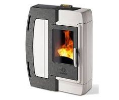 Image result for small ceramic wood burning heater