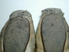 Vintage-Well-Worn-Advance-Theatrical-Co-Pointe-Ballet-Shoes-Size-4c