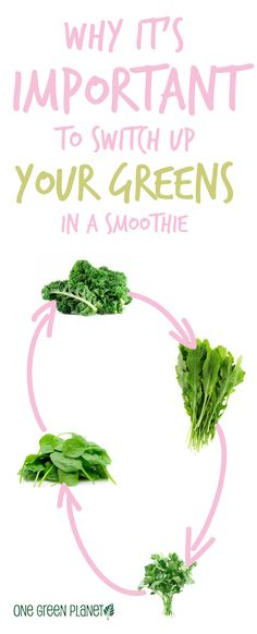Switch out your greens