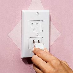 Parents.com recommends our Plastic Outlet Covers - The Home Safety Council recommends that if you use plug-in covers, you should look for ones that are too big to fit through a toilet-paper tube, or choose devices that you must twist or squeeze to remove.