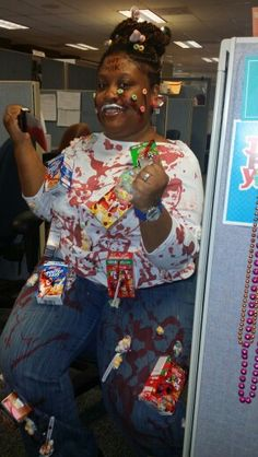 10 people who had the most genius costumes ever cereal killer cereal killer costume ccuart Choice Image