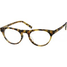 An acetate full-rim frame with comfortable acetate temples.