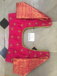 Best 12 Sudhasri hemaswardrobe – Page 391250286378178550 – SkillOfKing. Wedding Saree Blouse Designs, Pattu Saree Blouse Designs, Simple Blouse Designs, Stylish Blouse Design, Fancy Blouse Designs, Blouse Neck Designs, Maggam Work Designs, Designer Blouse Patterns, Hand Embroidery